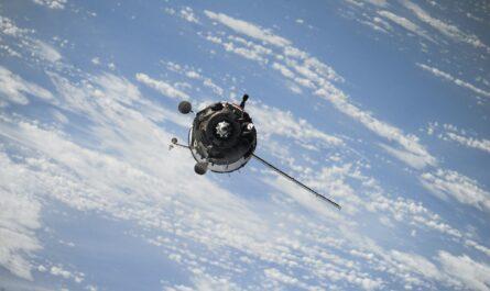Pohled z družice, který se tenkrát naskytl z modelu Sputnik 1.